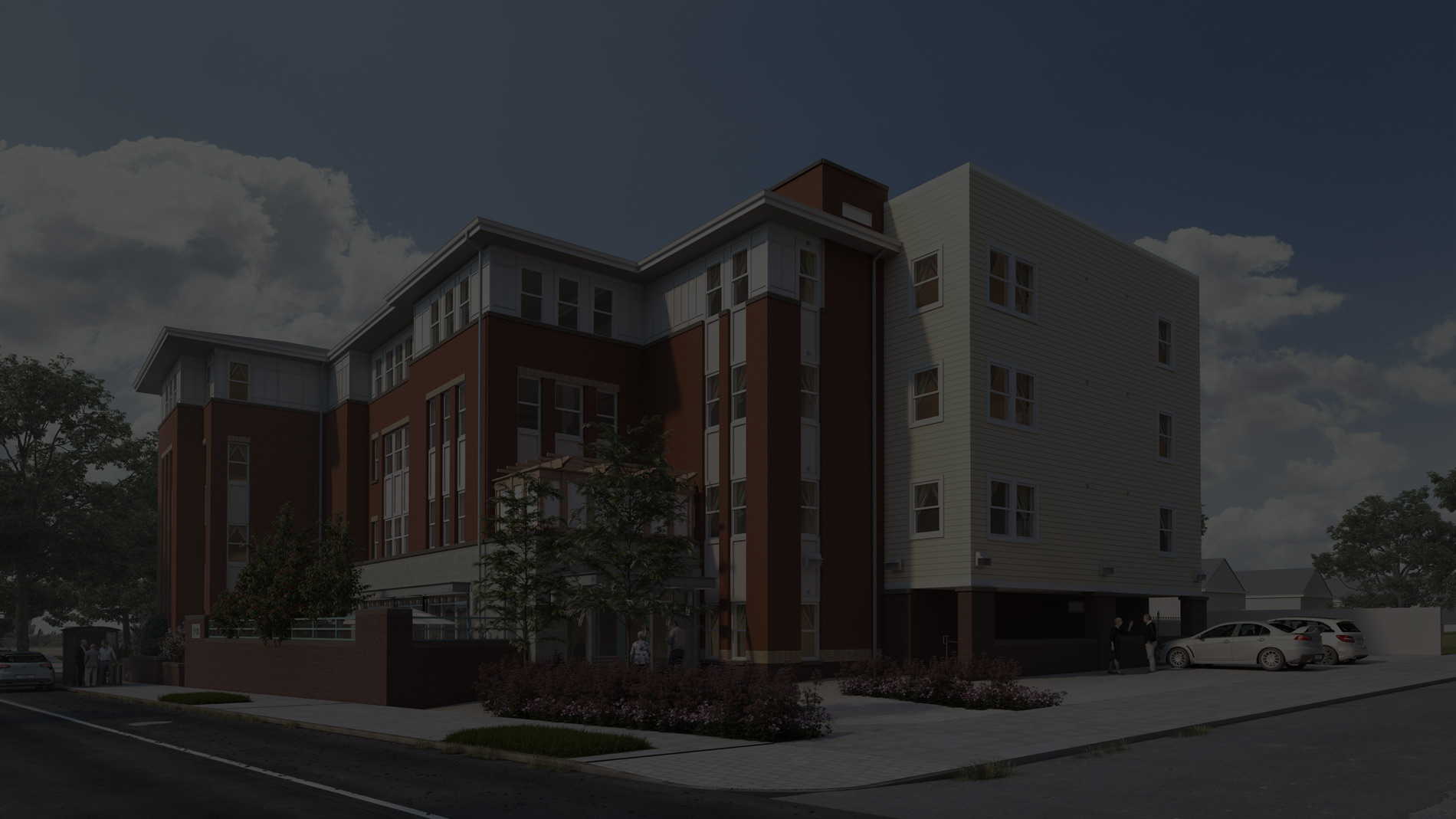 Washington DC Maple Heights Assisted Living Building