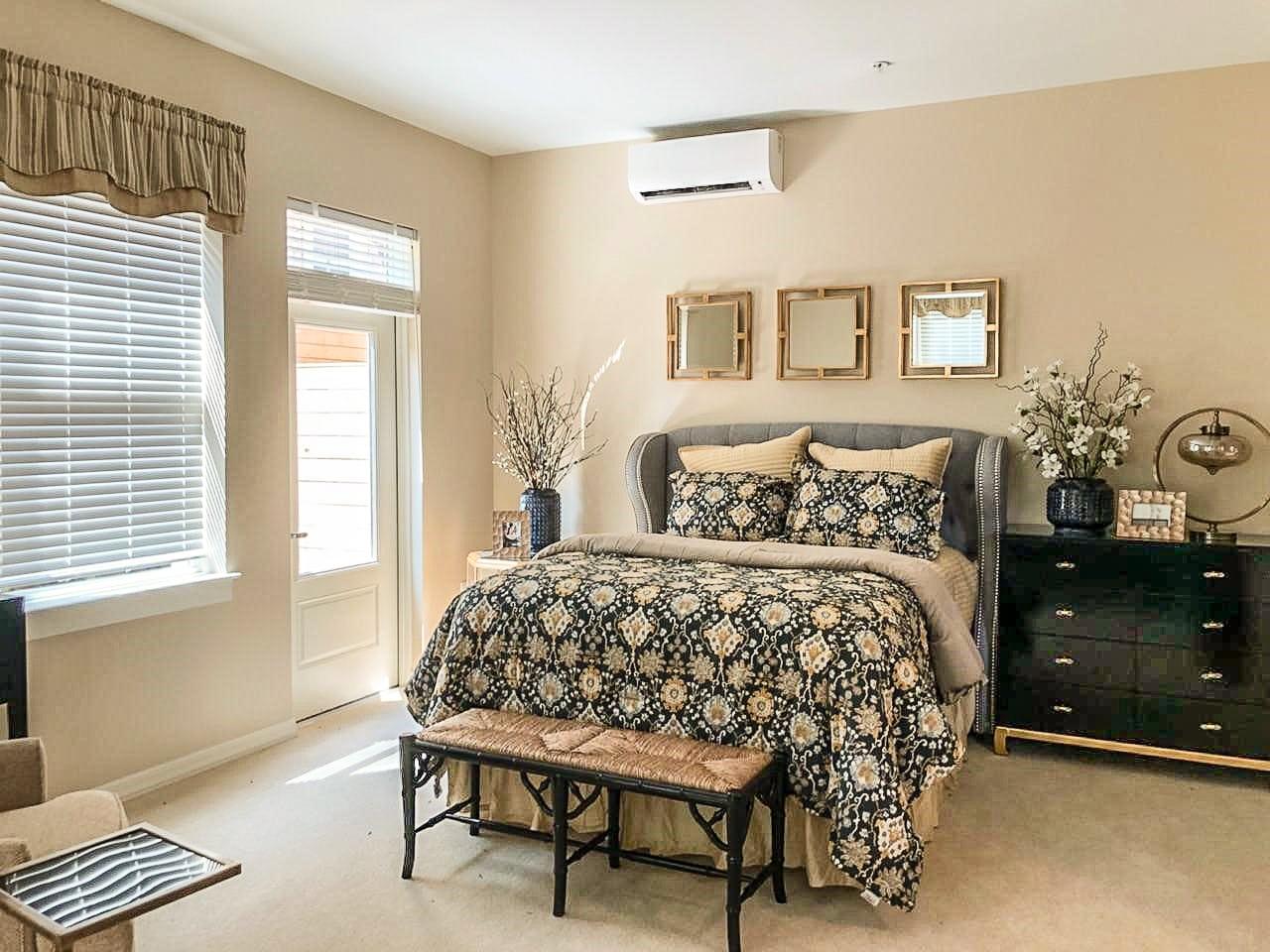 Washington DC Senior Living facility model bedroom